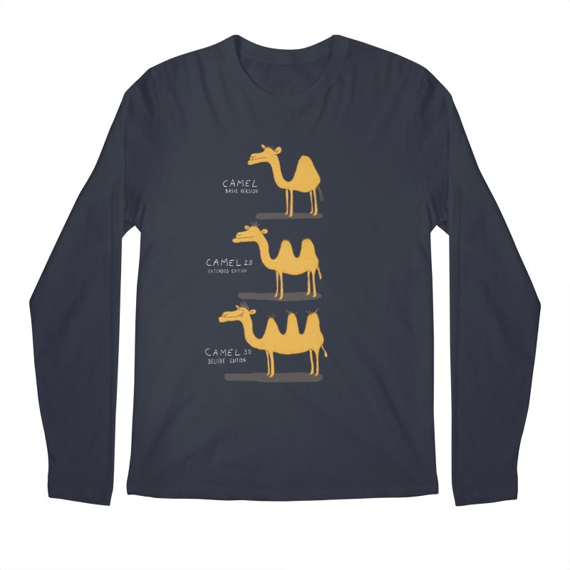 Camel Deluxe Men's Longsleeve T-Shirt by MAKI Artist Shop