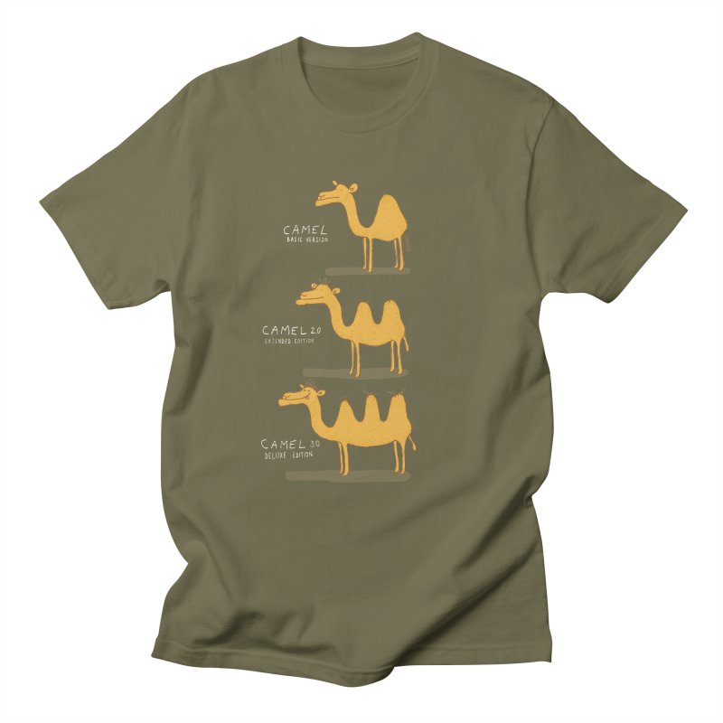 Camel Deluxe Men's Regular T-Shirt by MAKI Artist Shop