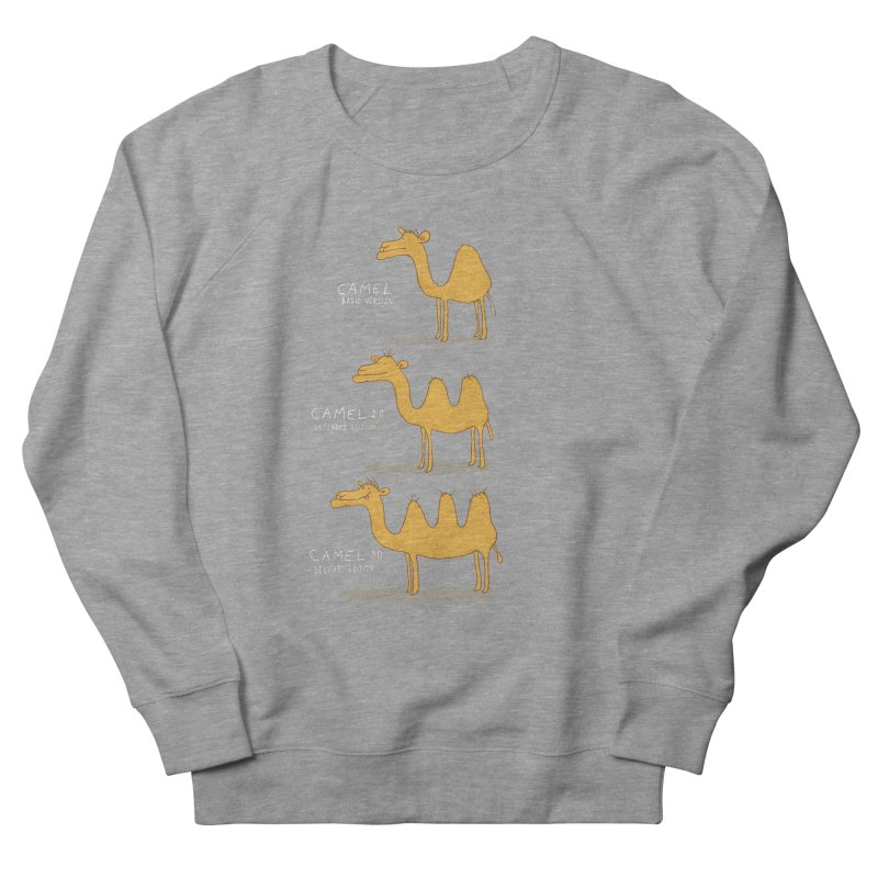 Camel Deluxe Men's Sweatshirt by MAKI Artist Shop