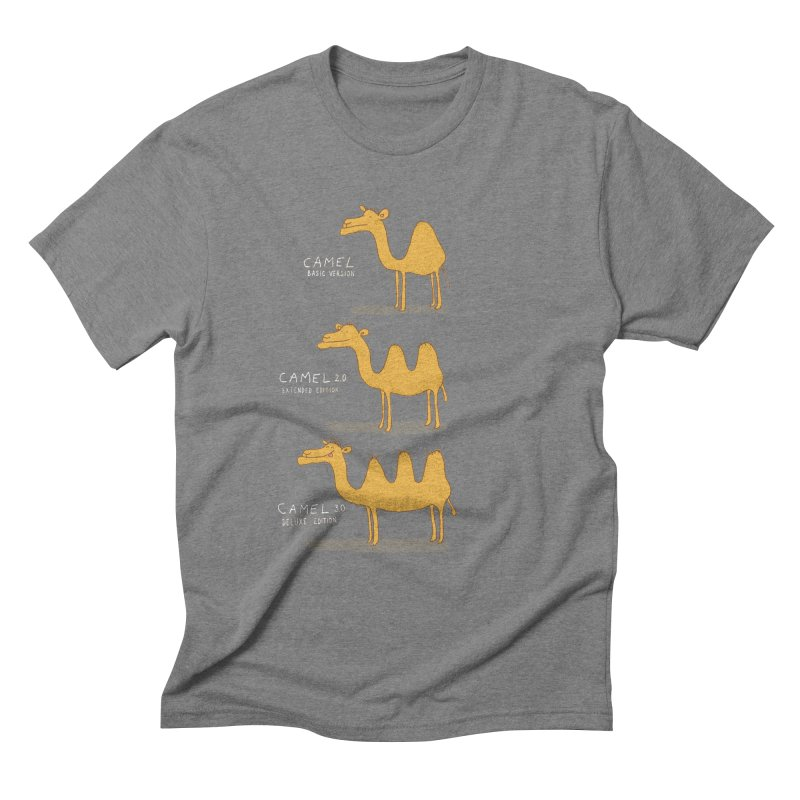 Camel Deluxe Men's Triblend T-Shirt by MAKI Artist Shop