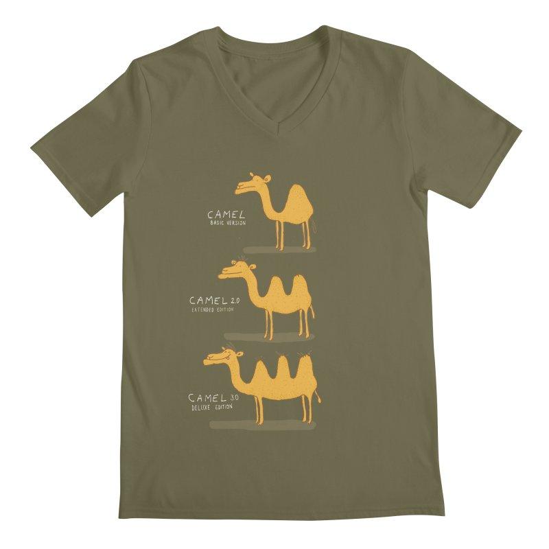 Camel Deluxe Men's V-Neck by MAKI Artist Shop
