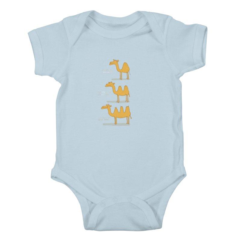 Camel Deluxe Kids Baby Bodysuit by MAKI Artist Shop