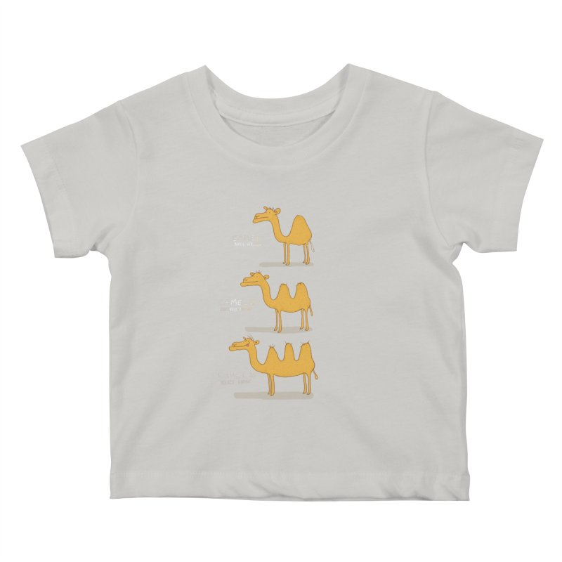 Camel Deluxe Kids Baby T-Shirt by MAKI Artist Shop