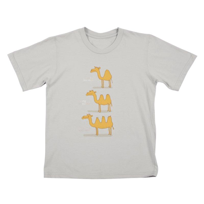 Camel Deluxe Kids T-Shirt by MAKI Artist Shop