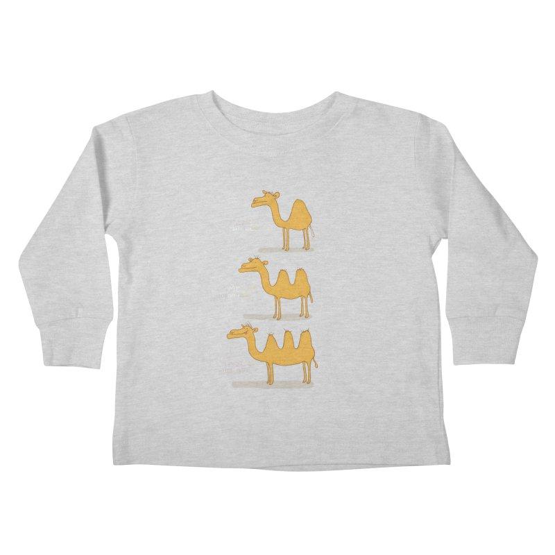 Camel Deluxe Kids Toddler Longsleeve T-Shirt by MAKI Artist Shop