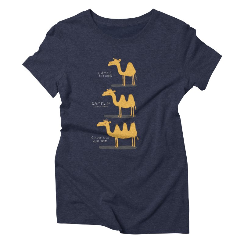 Camel Deluxe Women's Triblend T-Shirt by MAKI Artist Shop
