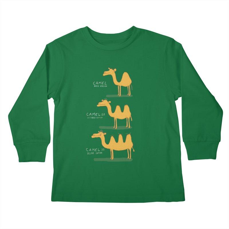 Camel Deluxe Kids Longsleeve T-Shirt by MAKI Artist Shop