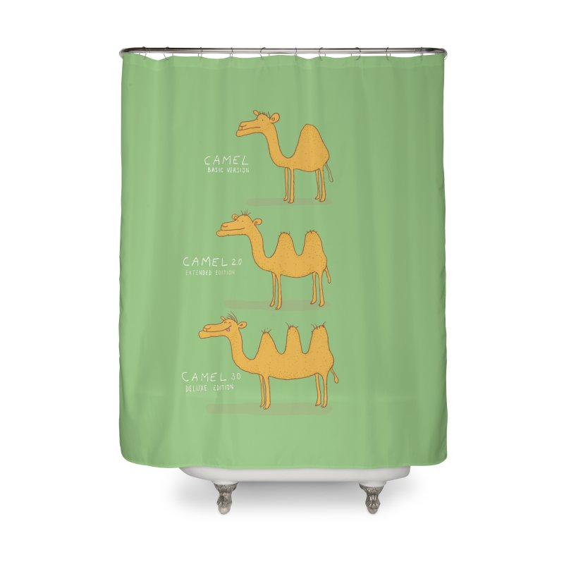 Camel Deluxe Home Shower Curtain by MAKI Artist Shop
