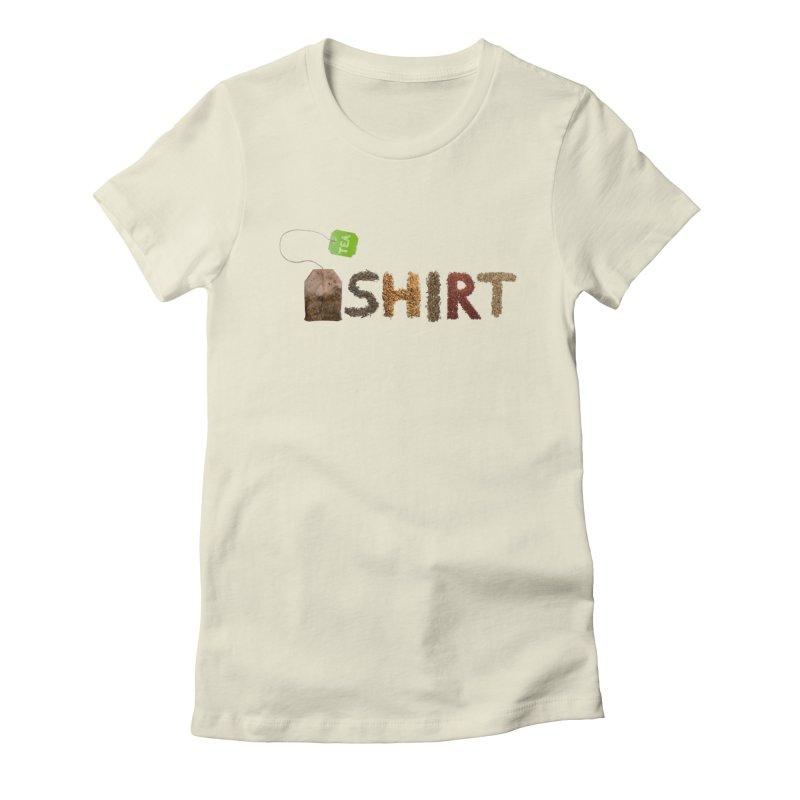 Tea-Shirt Women's Fitted T-Shirt by sebastianhoffmann's Artist Shop