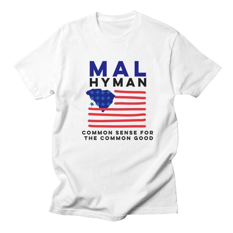Mal Hyman SC Flag Men's Regular T-Shirt by Shop Mal Hyman for Congress