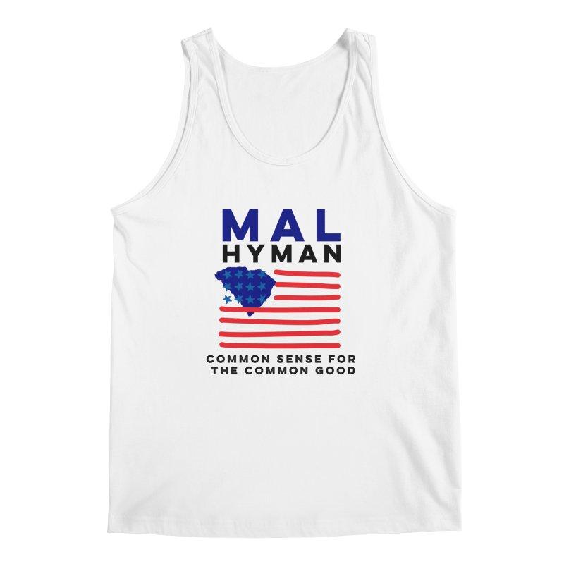Mal Hyman SC Flag Men's Regular Tank by Shop Mal Hyman for Congress