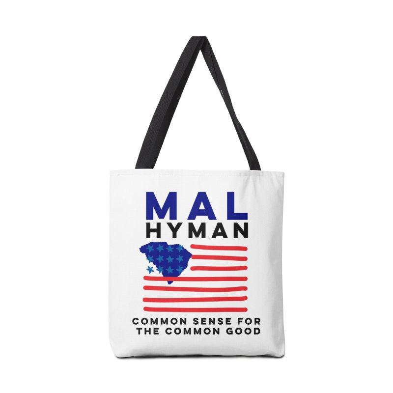 Mal Hyman SC Flag Accessories Bag by Shop Mal Hyman for Congress
