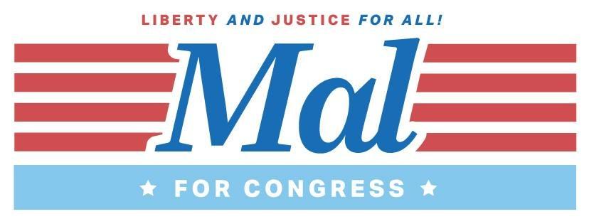 Shop Mal Hyman for Congress Logo