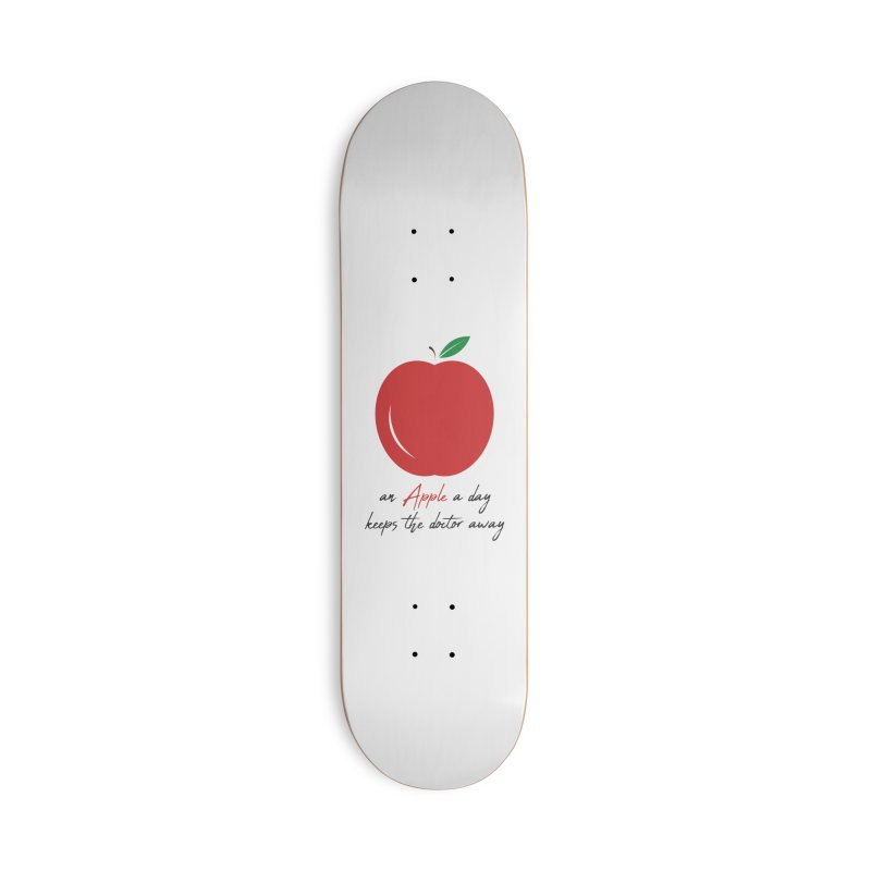 Apple Day! Accessories Skateboard by malayali