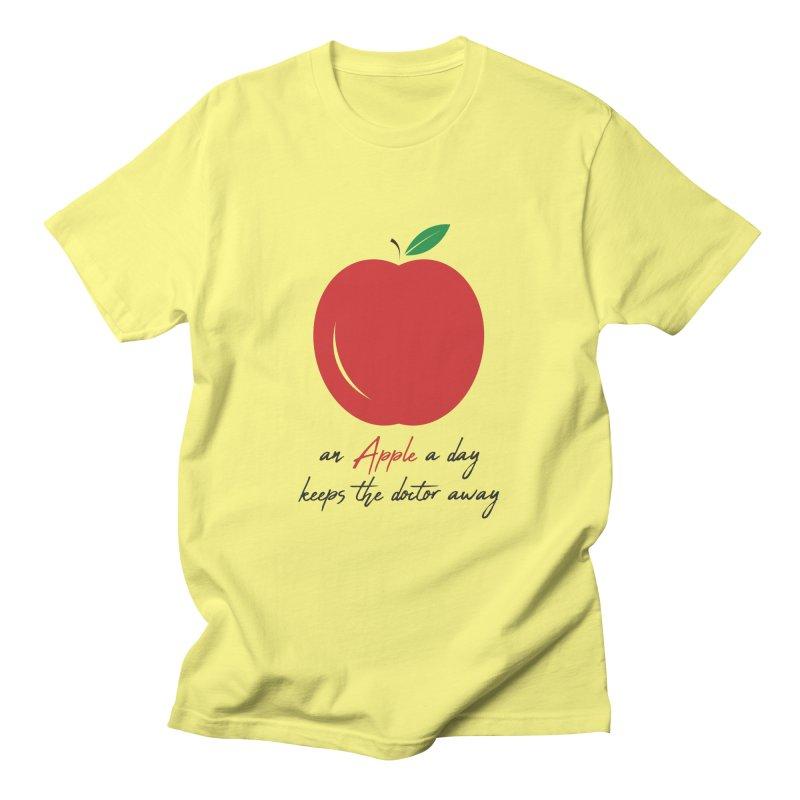 Apple Day! Men's T-Shirt by malayali
