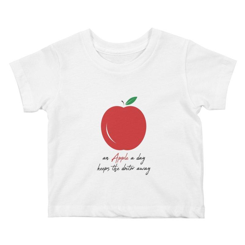 Apple Day! Kids Baby T-Shirt by malayali