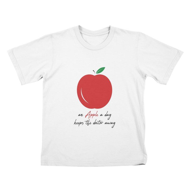Apple Day! Kids T-Shirt by malayali