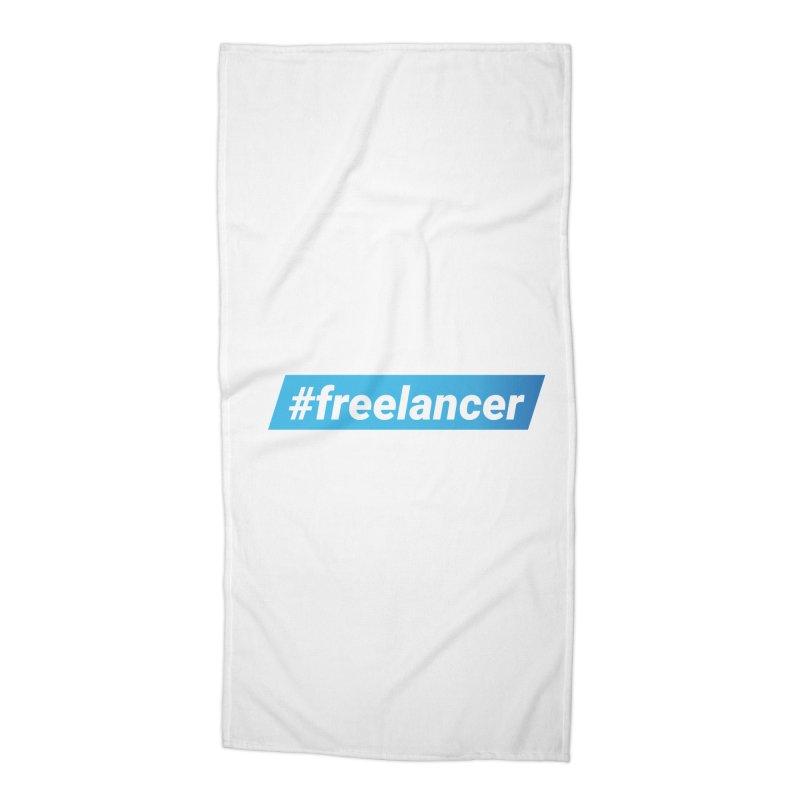 #freelancer Accessories Beach Towel by malayali
