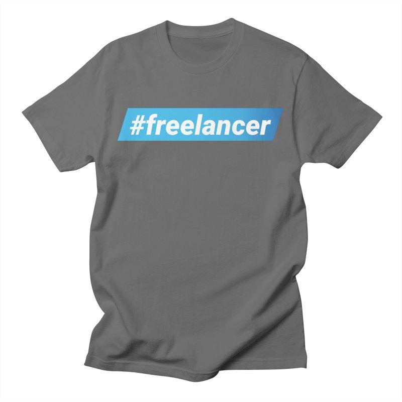 #freelancer Men's T-Shirt by malayali