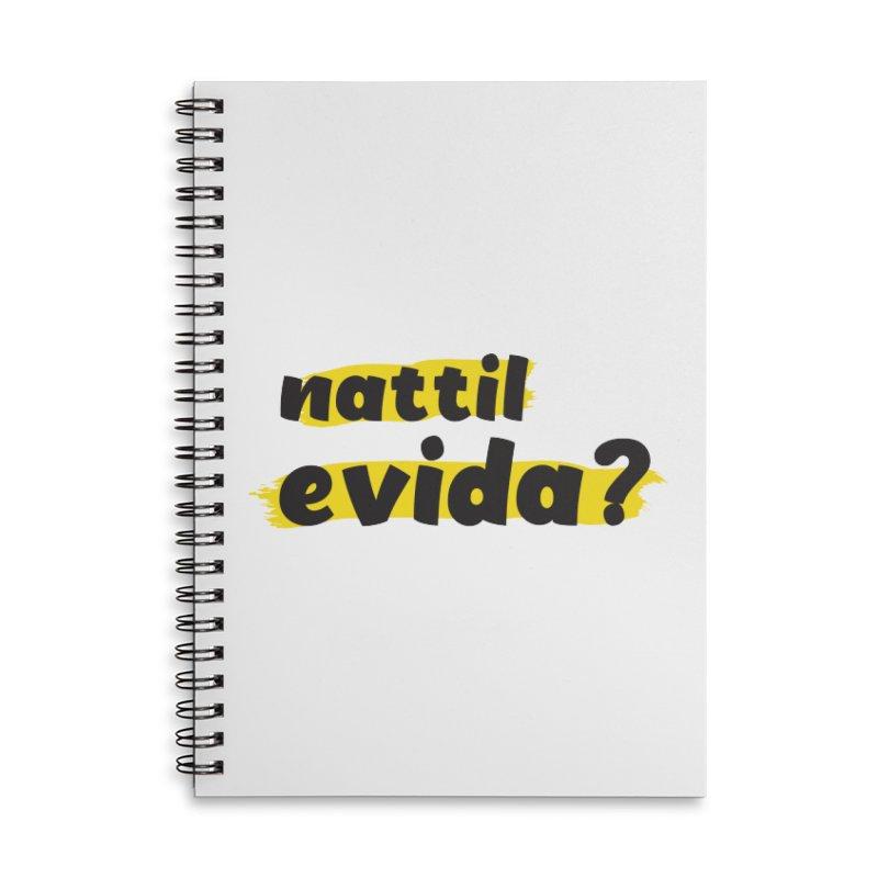 Nattil Evida -  നാട്ടിൽ എവിടാ? Accessories Notebook by malayali