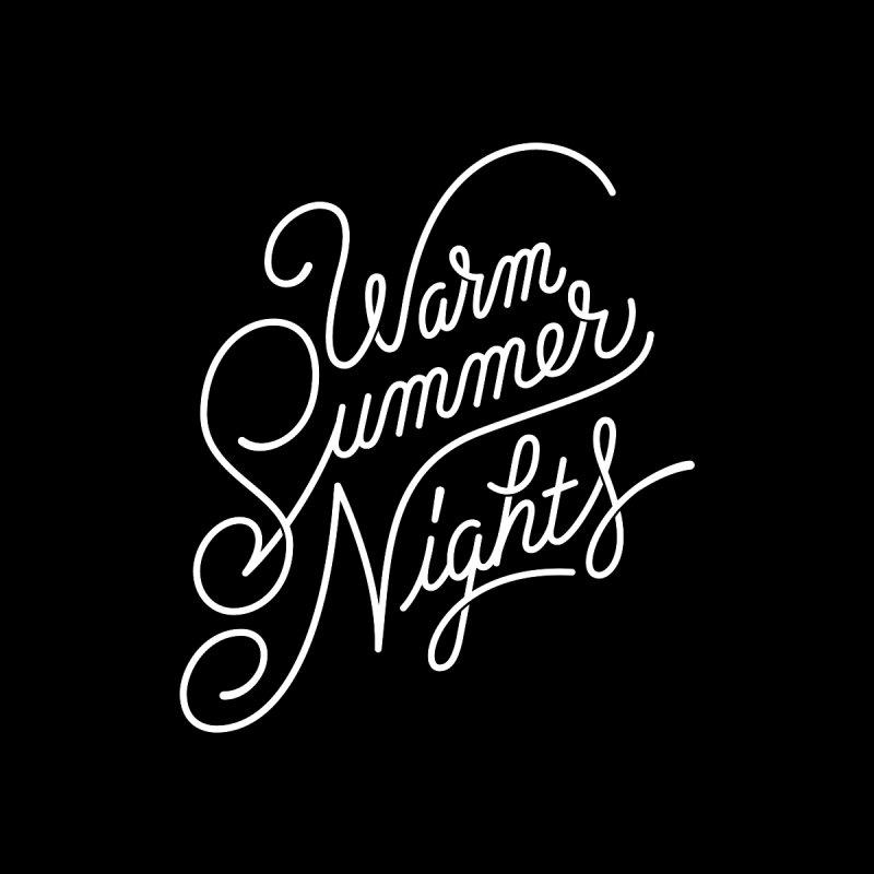 WARM SUMMER NIGHTS Men's T-Shirt by Malcom clothing