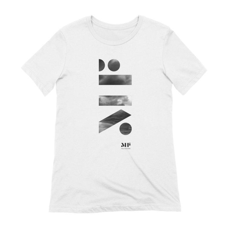 Mal Fantome | Cloud logo Women's T-Shirt by Mal Fantôme's Artist Shop