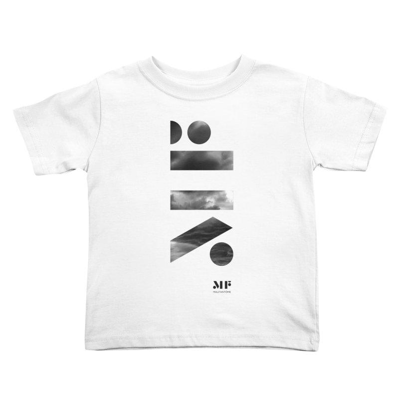 Mal Fantome   Cloud logo Kids Toddler T-Shirt by Mal Fantôme's Artist Shop