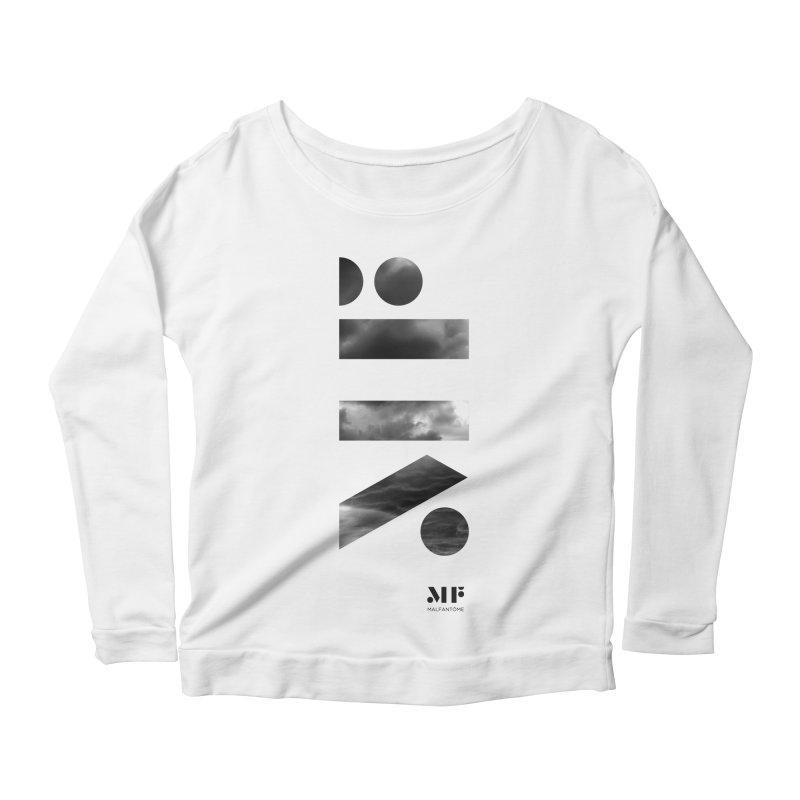Mal Fantome | Cloud logo Women's Longsleeve T-Shirt by Mal Fantôme's Artist Shop