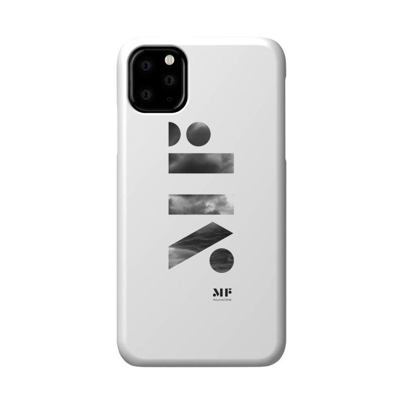 Mal Fantome   Cloud logo Accessories Phone Case by Mal Fantôme's Artist Shop