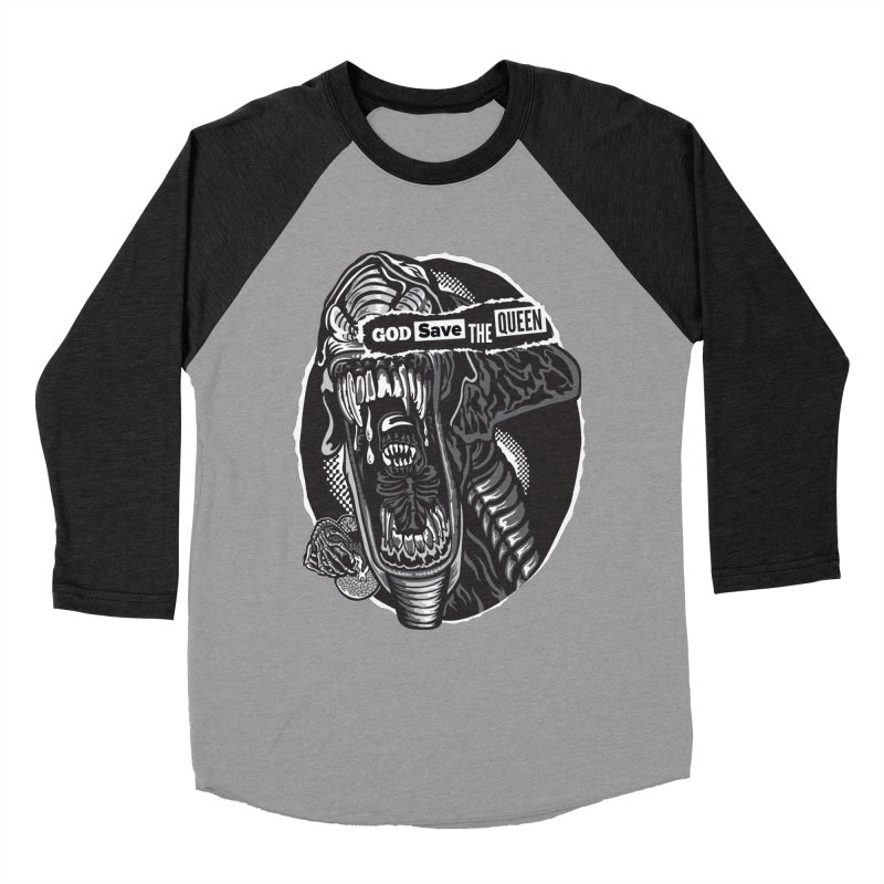 God save the queen Men's Longsleeve T-Shirt by malgusto