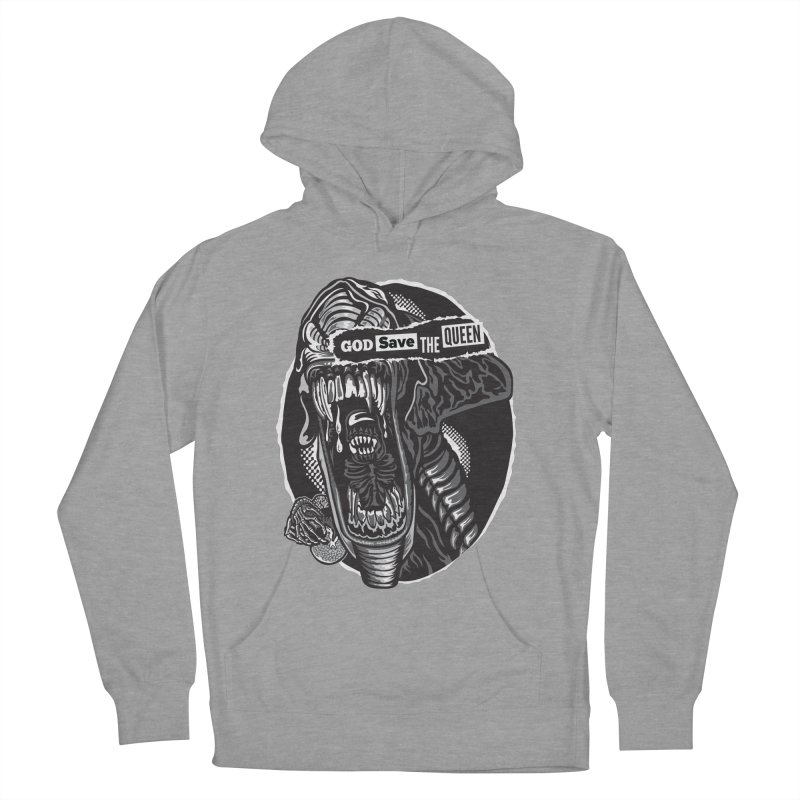 God save the queen Men's French Terry Pullover Hoody by malgusto