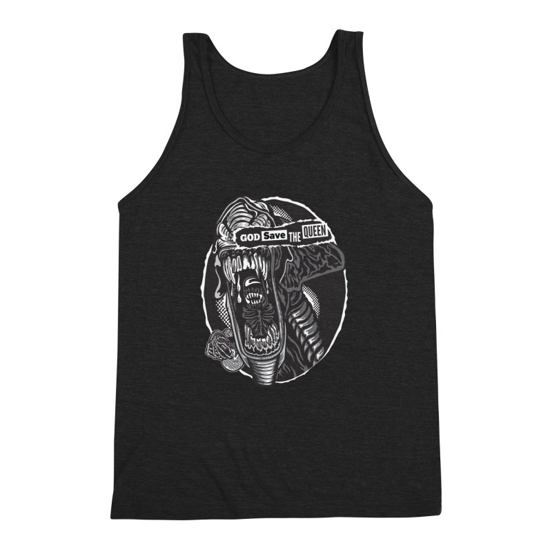 God save the queen Men's Triblend Tank by malgusto