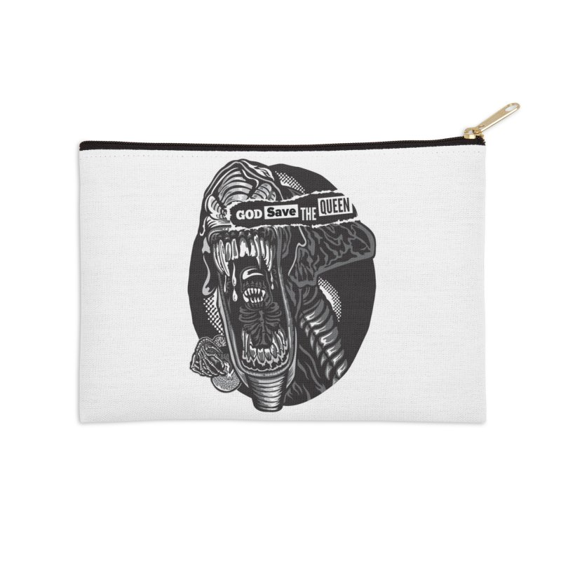 God save the queen Accessories Zip Pouch by malgusto