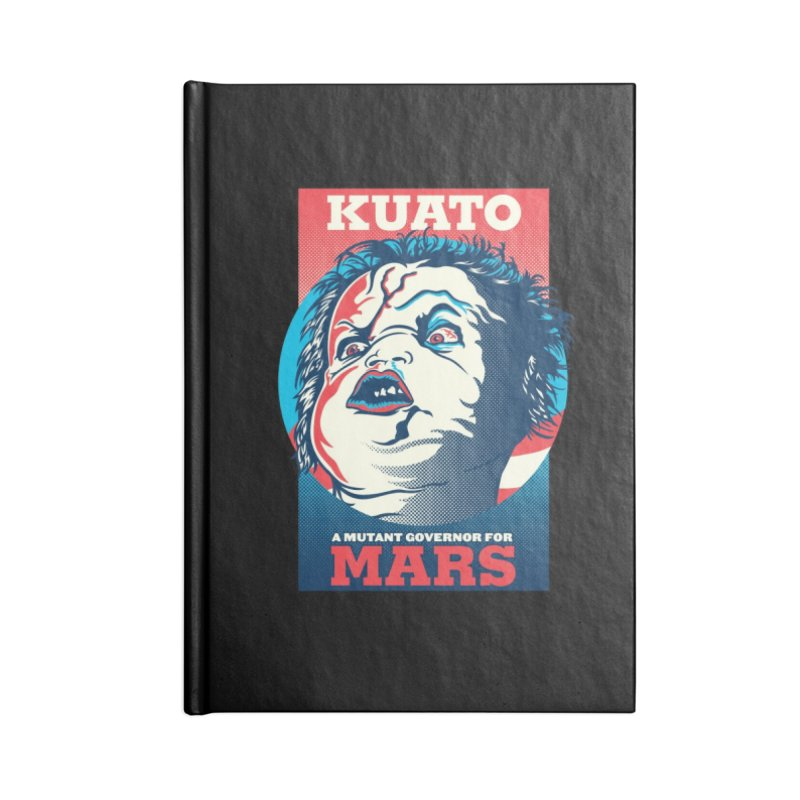 Kuato Accessories Blank Journal Notebook by malgusto
