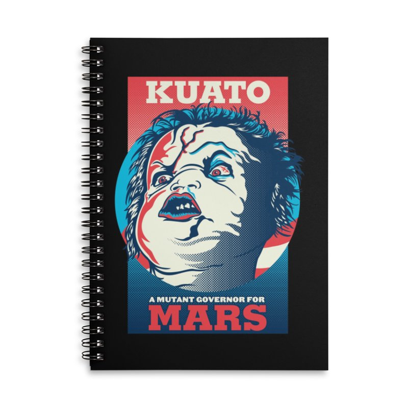 Kuato Accessories Lined Spiral Notebook by malgusto