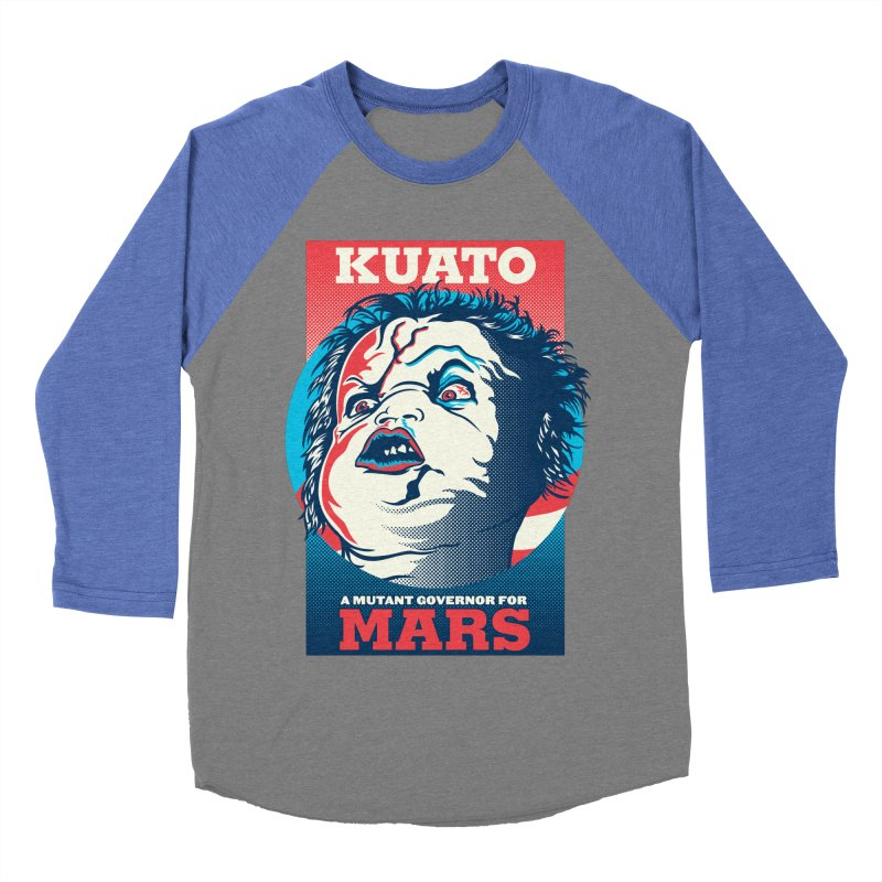 Kuato Women's Baseball Triblend T-Shirt by malgusto