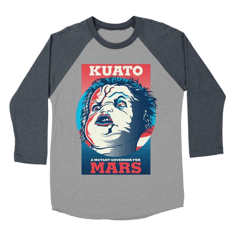 Kuato Women's Baseball Triblend Longsleeve T-Shirt by malgusto