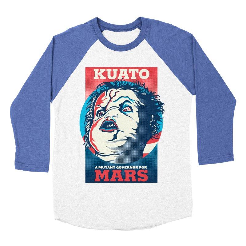 Kuato Men's Baseball Triblend Longsleeve T-Shirt by malgusto