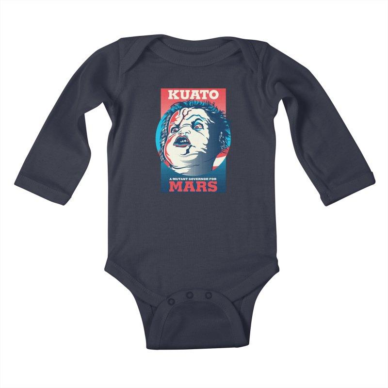 Kuato Kids Baby Longsleeve Bodysuit by malgusto