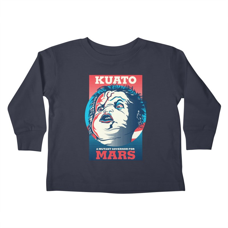 Kuato Kids Toddler Longsleeve T-Shirt by malgusto