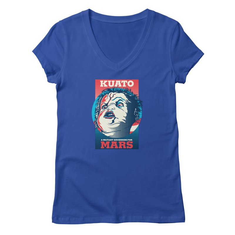 Kuato Women's V-Neck by malgusto