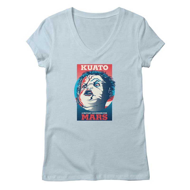 Kuato Women's V-Neck by malgusto