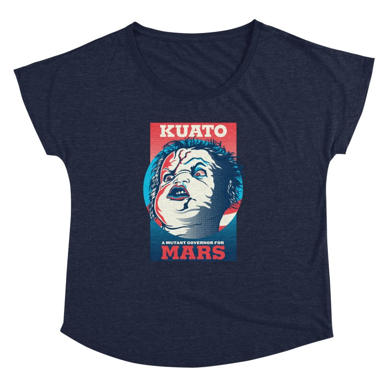 Kuato Women's Dolman Scoop Neck by malgusto
