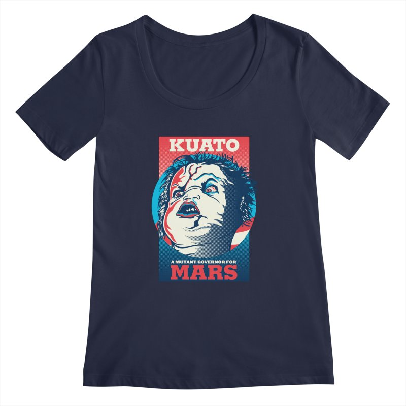 Kuato Women's Regular Scoop Neck by malgusto