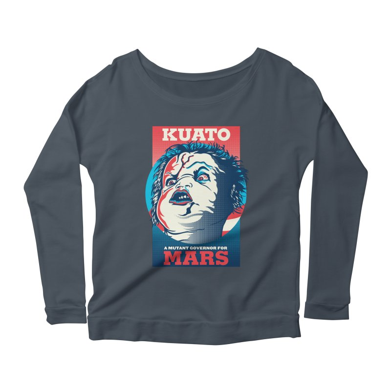 Kuato Women's Scoop Neck Longsleeve T-Shirt by malgusto