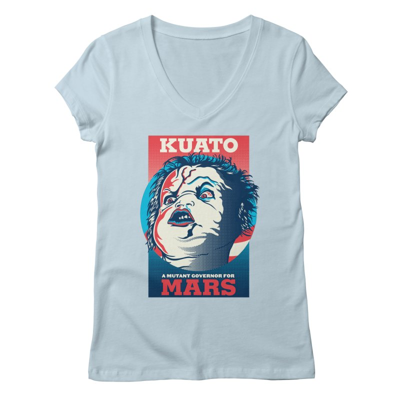 Kuato Women's Regular V-Neck by malgusto