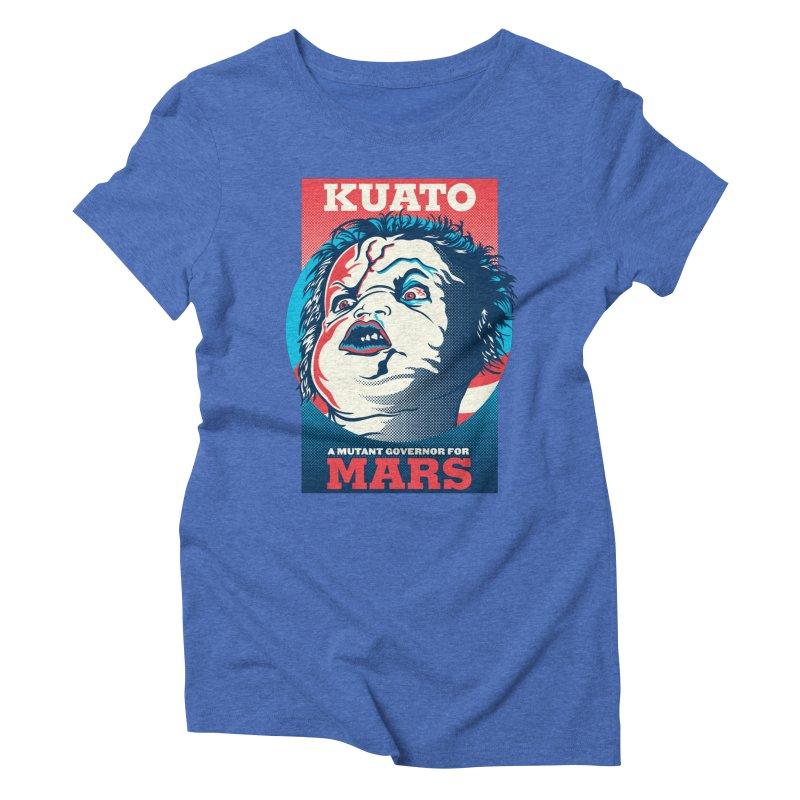 Kuato Women's Triblend T-Shirt by malgusto