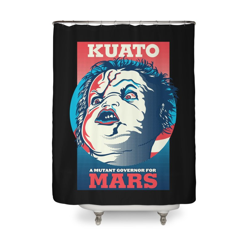 Kuato Home Shower Curtain by malgusto