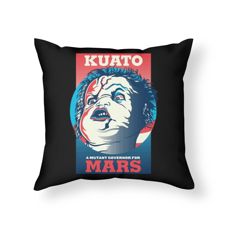 Kuato Home Throw Pillow by malgusto