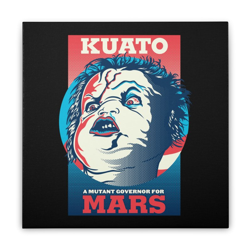 Kuato Home Stretched Canvas by malgusto